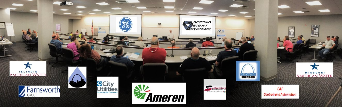 GE MDS training event at Ameren headquarters